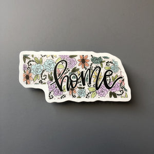 Oklahoma Floral Home Sticker