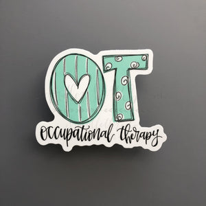 Occupational Therapy Sticker - Doodles by Rebekah