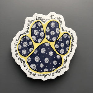 Elizabethtown Panthers Sticker