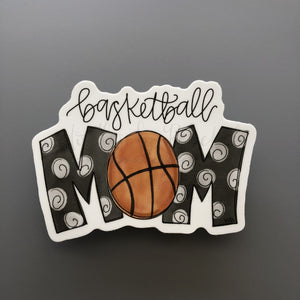Basketball Mom Sticker - Doodles by Rebekah