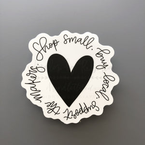 Shop Small -- Sticker - Doodles by Rebekah