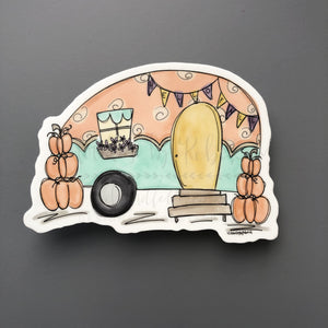 Fall RV Sticker