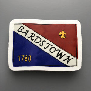 Bardstown Flag Sticker