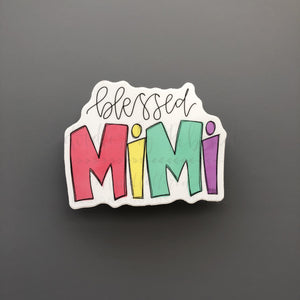 Blessed Mimi Sticker - Doodles by Rebekah