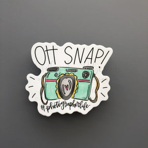 Oh Snap! Sticker - Doodles by Rebekah
