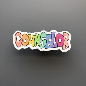 Counselor Sticker - Doodles by Rebekah
