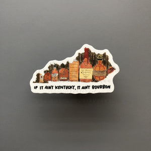 KY Bourbon Sticker - Doodles by Rebekah