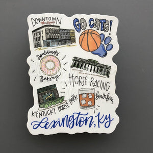 Around The Town Of Lexington, KY - Doodles by Rebekah