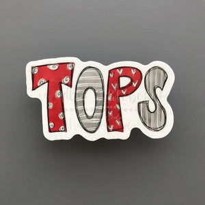 TOPS Sticker - Doodles by Rebekah