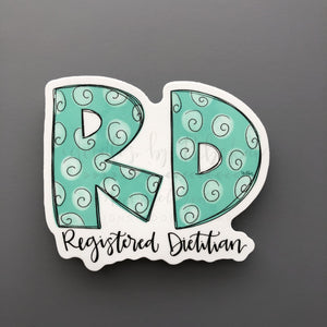 R.D. Sticker - Doodles by Rebekah