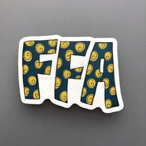 FFA Sticker - Doodles by Rebekah