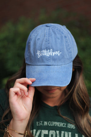 Bethlehem Embroidered Cap