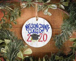 Nelson County Class of 2020 Ornament - Doodles by Rebekah