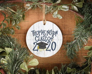 Thomas Nelson Class of 2020 Ornament - Doodles by Rebekah