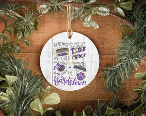 Bardstown High School Pride Ornament - Doodles by Rebekah