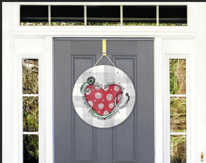 Nurse Heart Door Hanger - Door Hanger