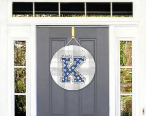 Kentucky 'K' Door Hanger - Door Hanger