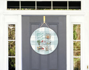 Around Seaside Florida Door Hanger - Door Hanger