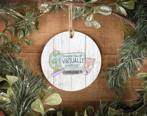Teachers Can do Virtually Anything Ornament - Ornaments