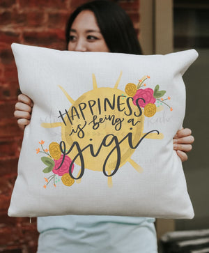 Happiness is being a *custom name* Pillow - Pillow