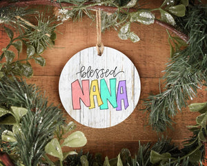 Blessed Nana Ornament - Ornaments