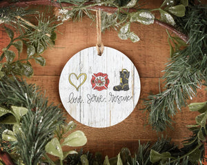 Love. Serve. Rescue. Ornament - Ornaments