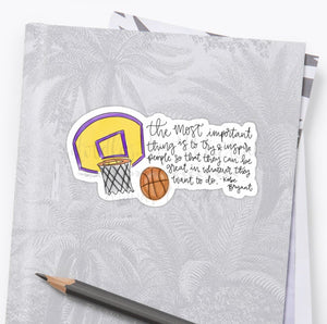 Kobe Bryant Memorial Items - Doodles by Rebekah