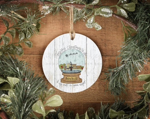 Bowling Green KY Snow Globe Ornament - Ornaments