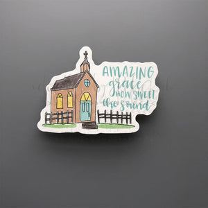 Amazing Grace Sticker - Doodles by Rebekah