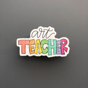 Art Teacher Sticker - Doodles by Rebekah