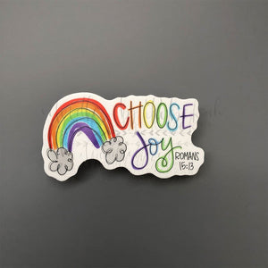 Choose Joy Sticker - Doodles by Rebekah