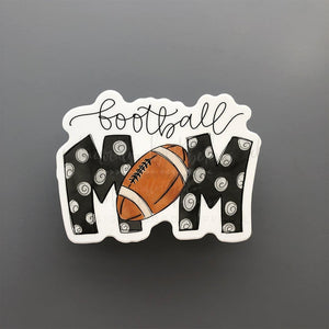 Football Mom Sticker - Doodles by Rebekah