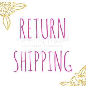Return Shipping - Doodles by Rebekah