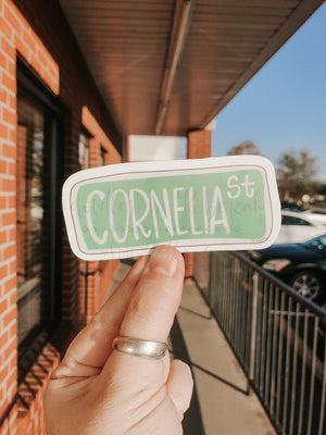 Cornelia St. Sticker