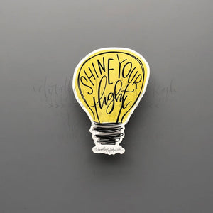 Lightbulb Sticker - Doodles by Rebekah
