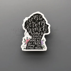 Women Empowerment Sticker - Doodles by Rebekah