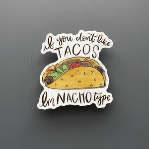 Taco Tuesday Sticker - Doodles by Rebekah