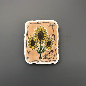 Sunflowers Sticker - Doodles by Rebekah