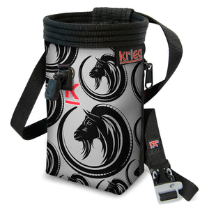 Ibex Art Climbing Chalk Bag Krieg