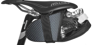 Black Bomber Ballistic Saddle Bag Normal Size