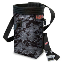 Load image into Gallery viewer, Digital Camouflage Climbing Chalk Bag