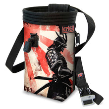 Load image into Gallery viewer, Last Warrior 2 standing Climbing Chalk Bag