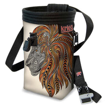 Load image into Gallery viewer, Lion Climbing Chalk Bag