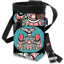 Load image into Gallery viewer, Falcon Tribal Climbing Chalk Bag Krieg