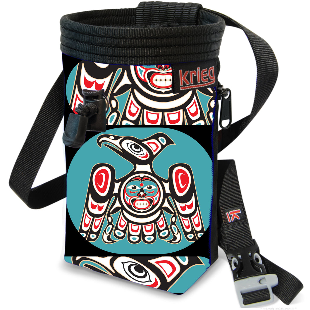 Falcon Tribal Climbing Chalk Bag Krieg