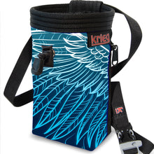 Load image into Gallery viewer, Wings feather Chalk Bag Krieg climbing chalkbag