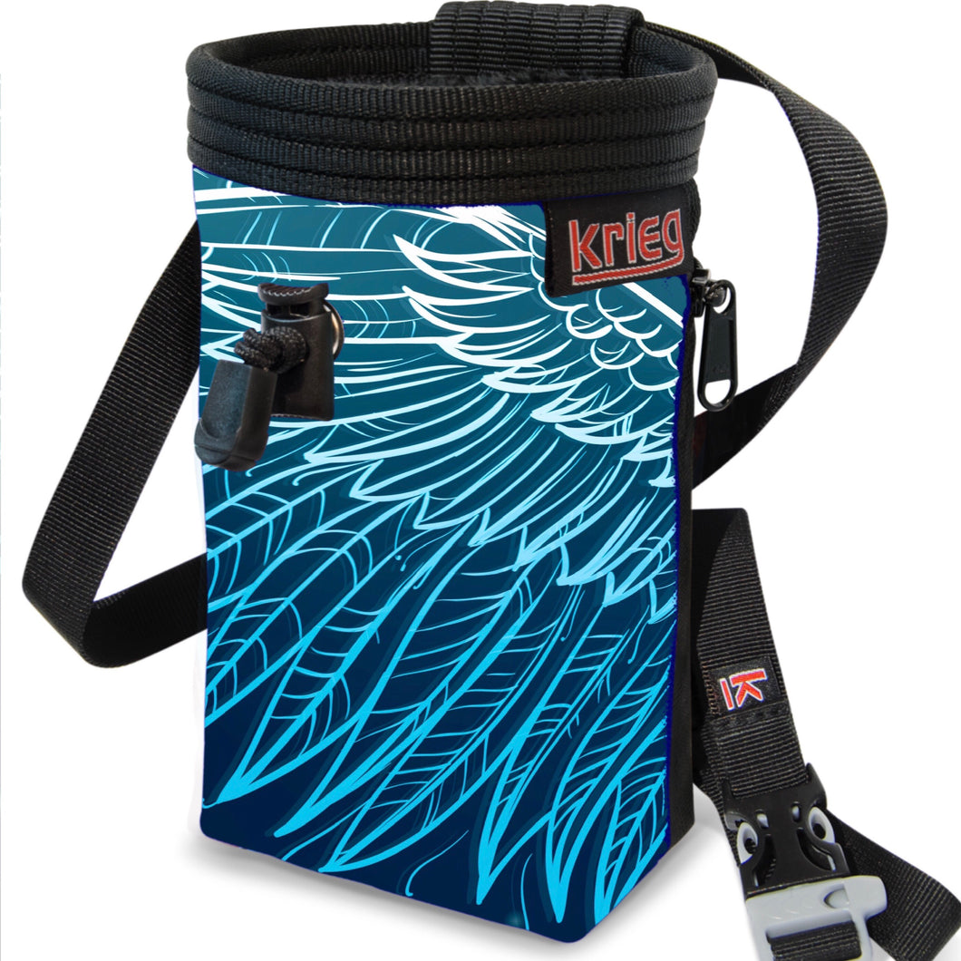 Wings feather Chalk Bag Krieg climbing chalkbag