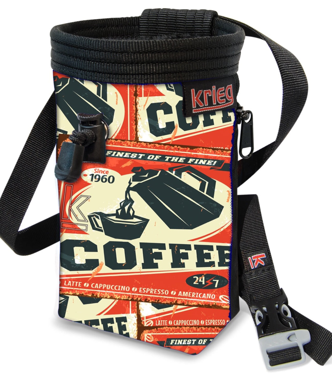 Coffee 24 7 Climbing Chalk Bag Krieg