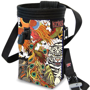Tiger forest Chalk Bag Krieg climbing chalkbag