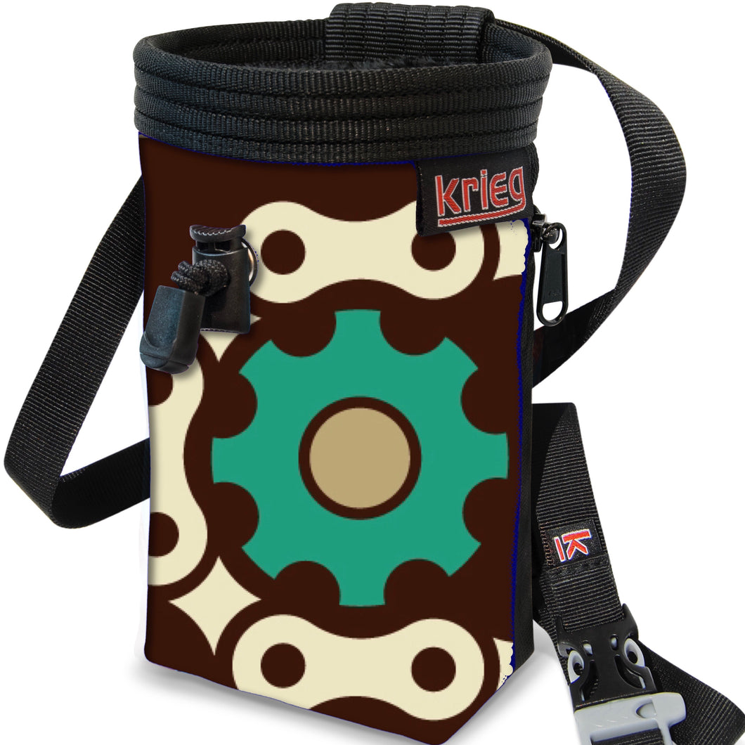 Bike Gears Chalk Bag